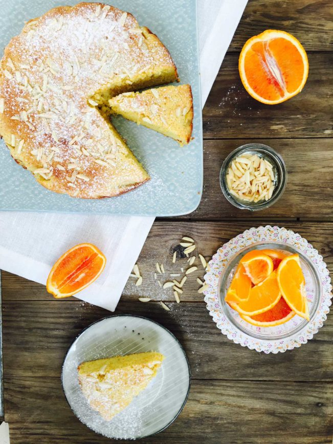Orange almond cake - my best gluten-free, sugar-free, low carb cake to date! Recipe here: MyCopenhagenKitchen.com