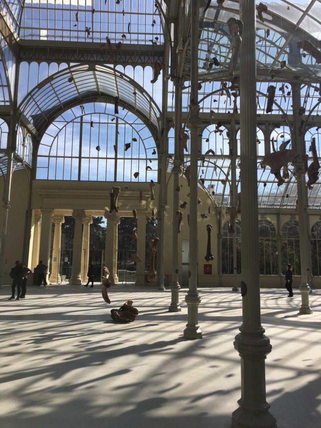 Palacio di Cristal - Madrid - Retiro parken