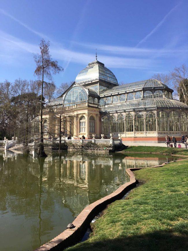 Retiro-parken - Madrid