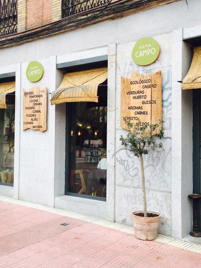 Restaurant guide Madrid - spis sundt og godt --> Madbanditten.dk