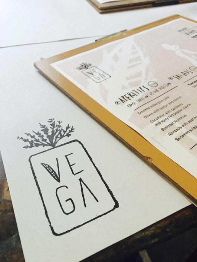 Spis vegansk i Madrid på Restaurant Vega
