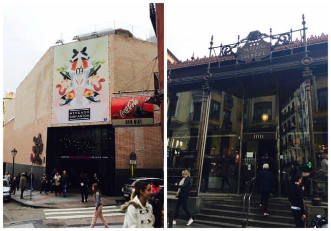 Tag på madmarked i Madrid. Madrid har to madmarkeder, Mercado San Miguel og Mercado San Ánton. Læs om dem her: