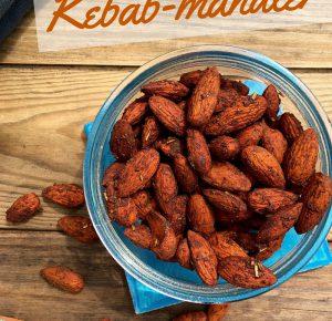 Kebab-mandler – opskrift på en lækker krydret snack