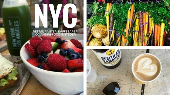 New York for foodies - Restauranter, madmarkeder, kaffebarer og andre foodie-steder --> Madbanditten.dk