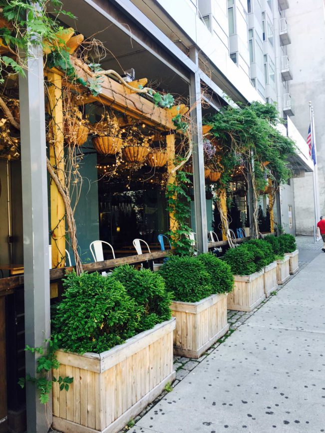 Meatpacking District, New York - Gansevoort Hotel - Eatery