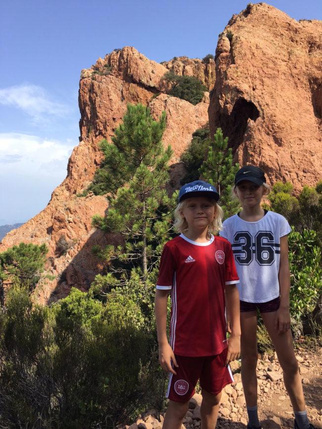Vandretur/hiking i Esterel bjergene, Provence