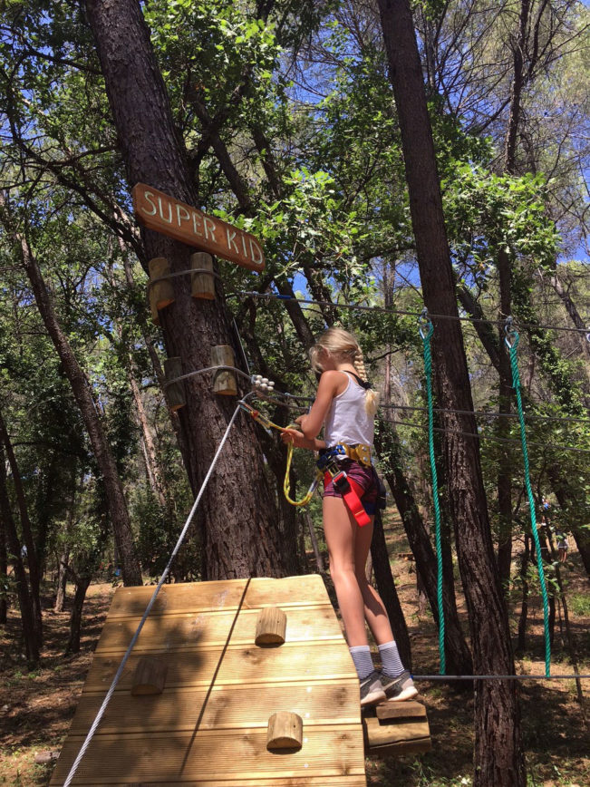 Flay'Forest - adventure park med klatring - Provence, Frankrig