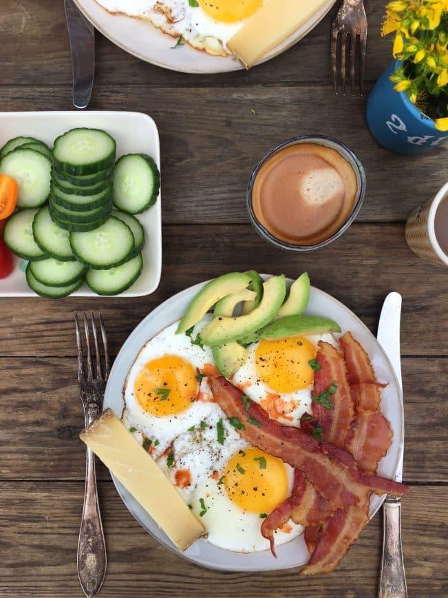 LCHF morgenmad - striks LCHF /keto - find mange forslag her: