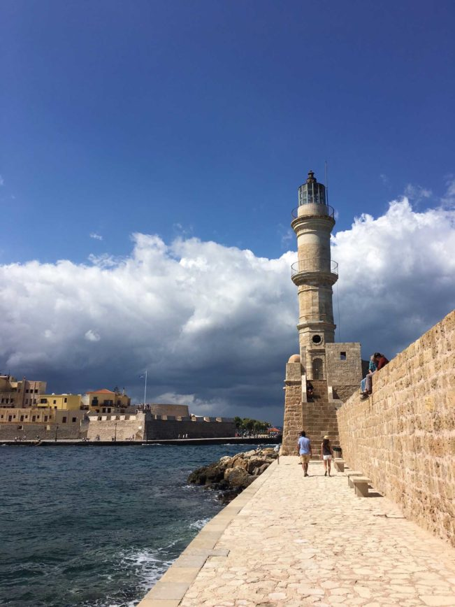 Kreta - Chania - rejsetips og restauranter