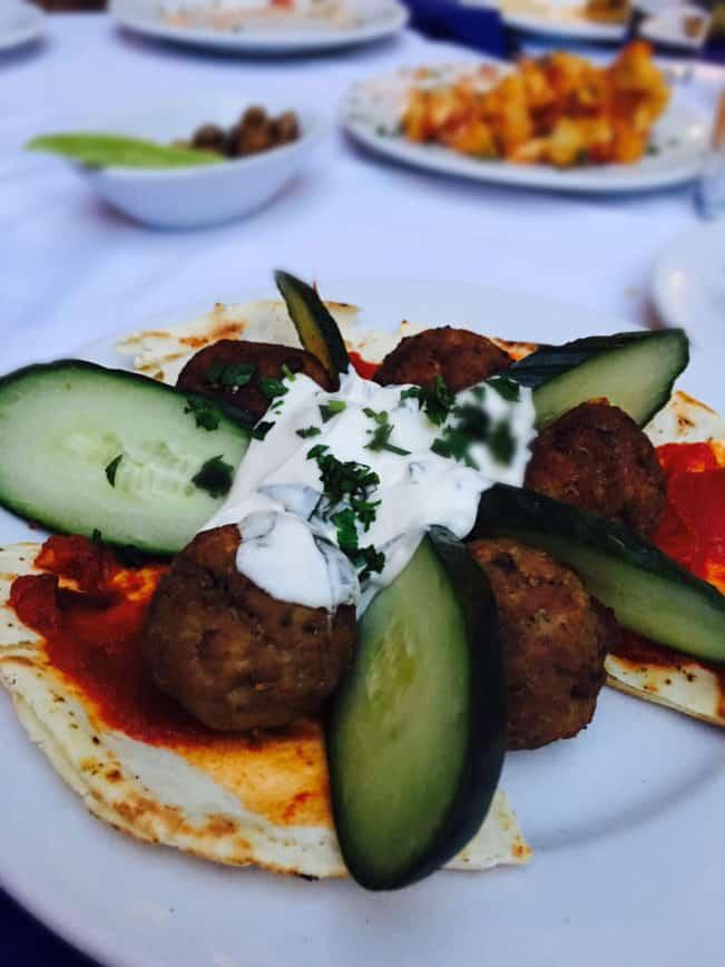 Lækker mad på Kreta