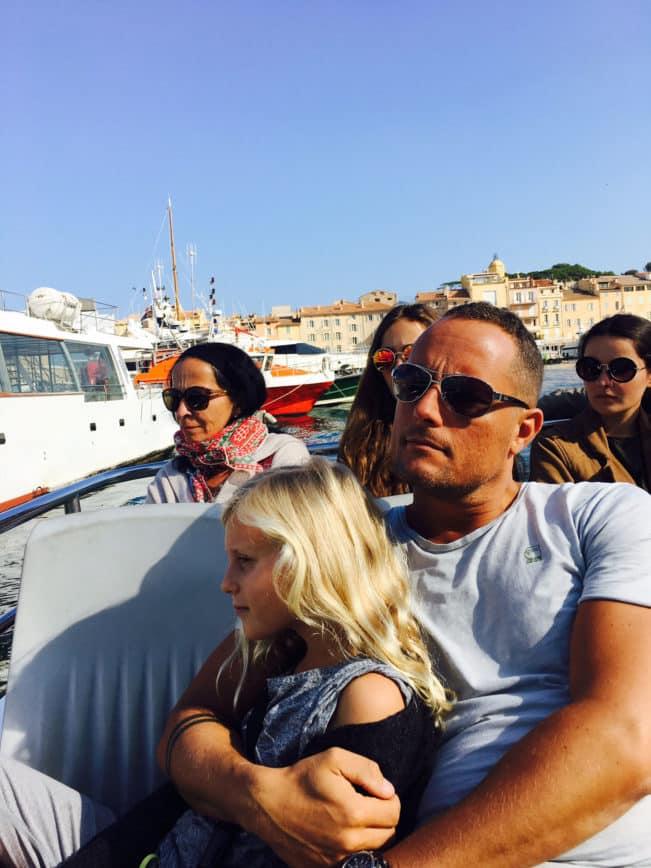 Bateaux Verts - sejl fra Saint Tropez til Sainte Maxime på under 10 minutter.
