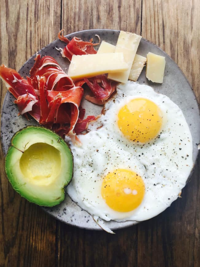 Low carb - LCHF - Keto breakfast that keeps you fill 'till lunch