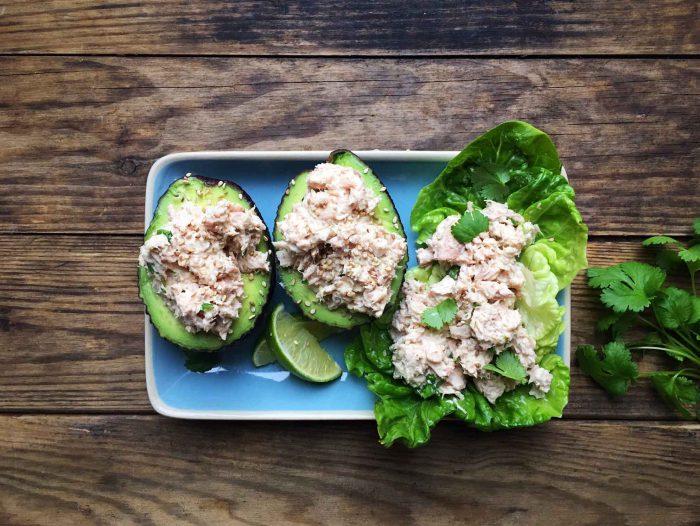 Tun i wasabi med avokado – nem madpakke-idé