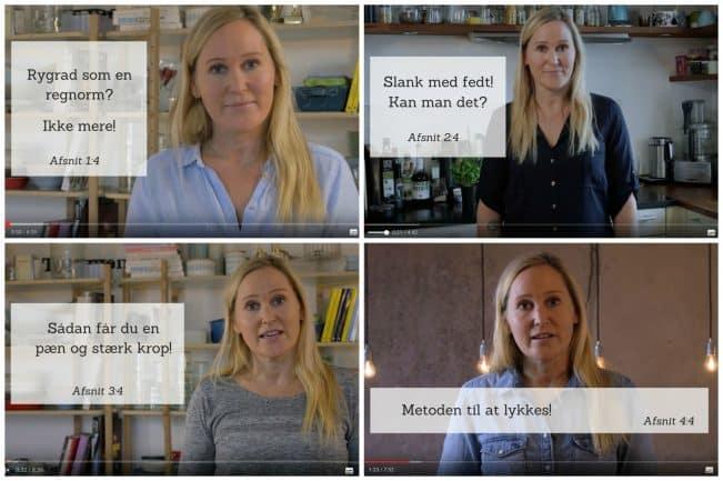 LCHF videoføljeton med Jane Faerber - 4 afsnit live nu