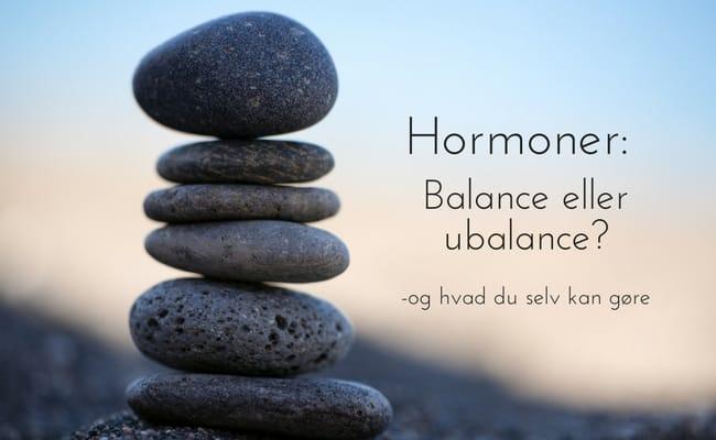hormoner i balance bog