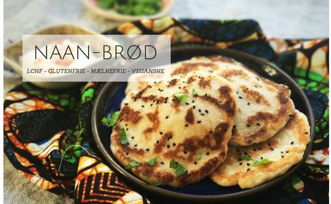 Naan-brød – uden mel, mælk og æg