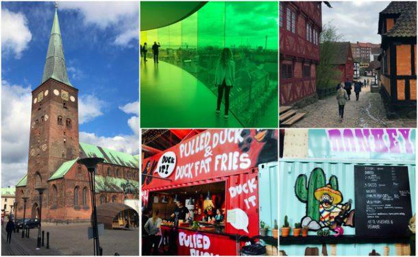 Min påskeferie: Turist i Aarhus