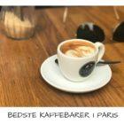 Bedste kaffebarer i Paris. Hvor finder jeg den bedste kaffe i Paris? Se guiden over de lækre og trendy kaffebarer i Paris
