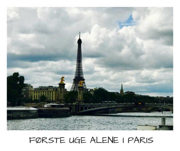 Første uge alene i Paris - en status