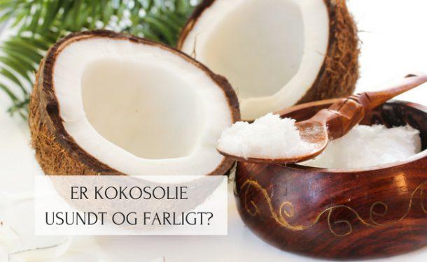 Er kokosolie usundt og farligt?