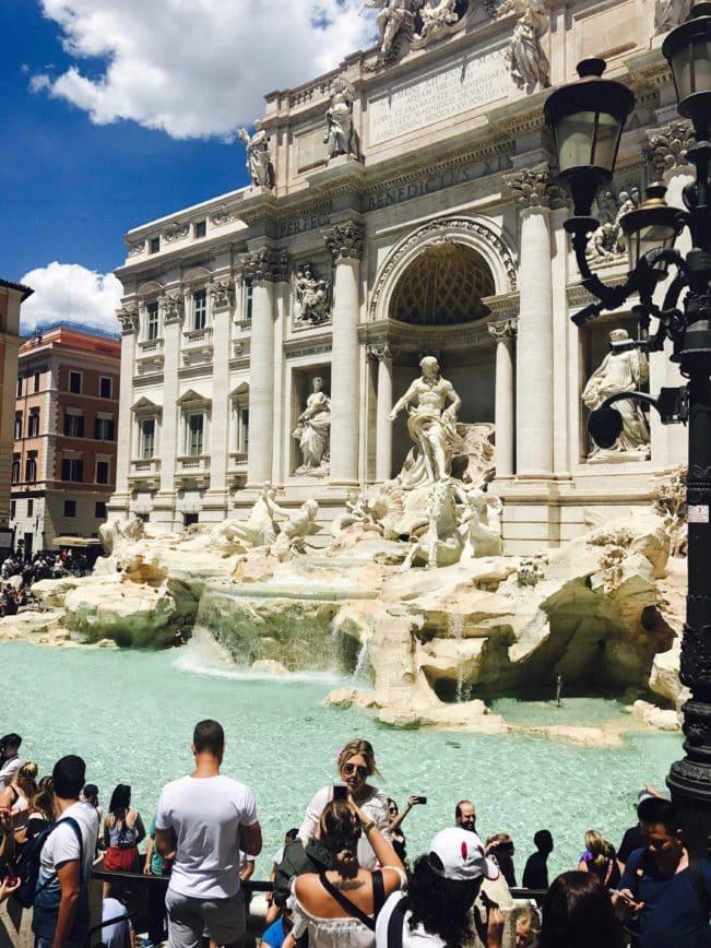 kendt fontæne i rom
