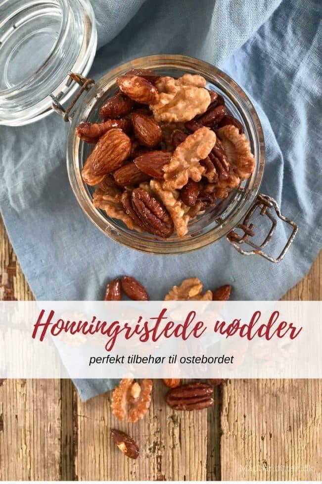 Honningristede nødder - opskrift på det perfekte tilbehør til ostebordet