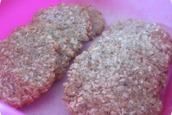 Low carb cookies med pekannødder og kokos - sukkerfri, glutenfri og uden kornprodukter