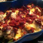 Lækker og nem hverdagsmad: Italiensk kylling med mozzarella og soltørrede tomater --> Madbanditten.dk