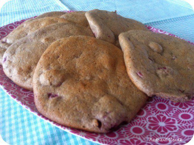 Oopsies med hindbær - et lækkert lille blødt brød uden kulhydrater