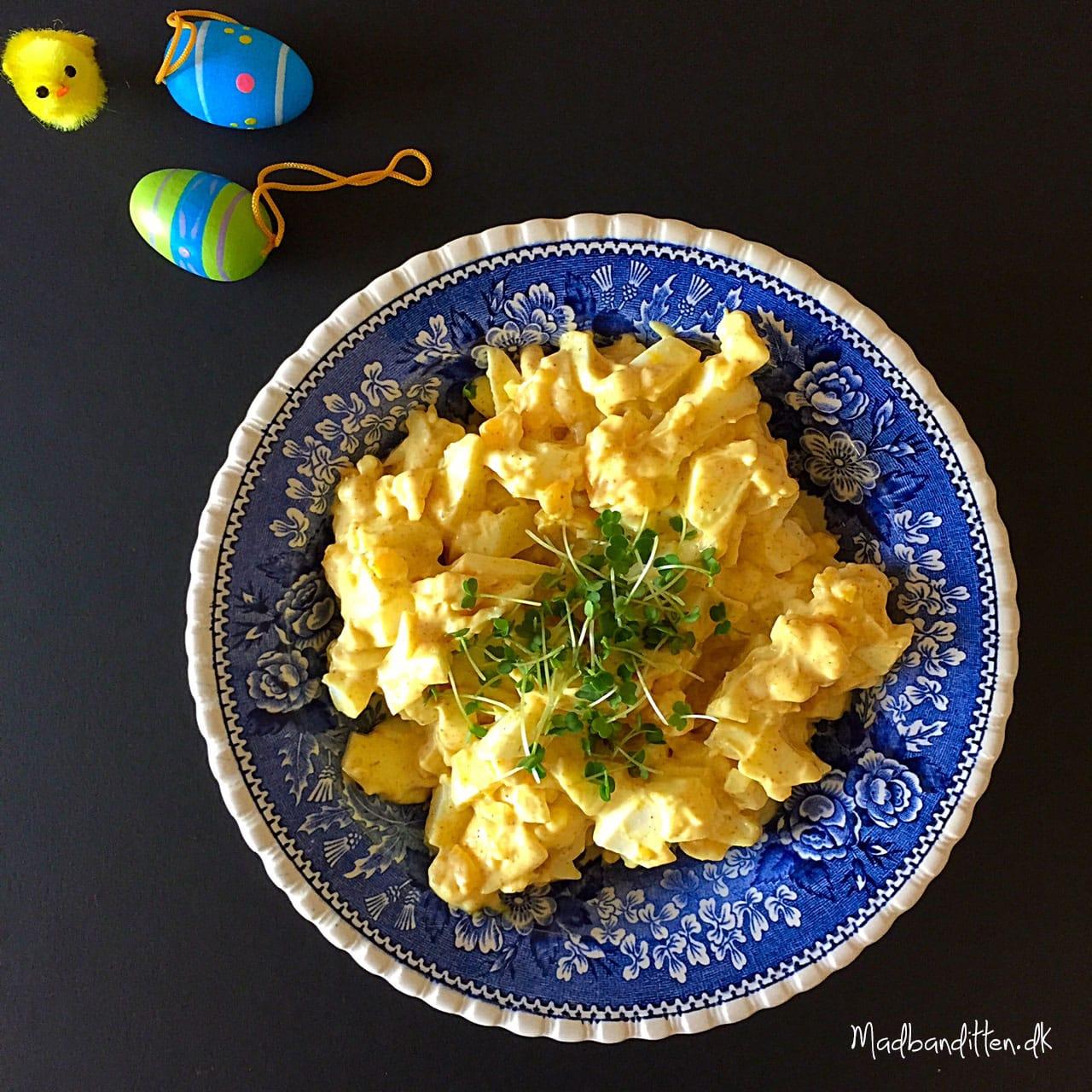 LCHF-æggesalat til påskebordet --Madbanditten.dk