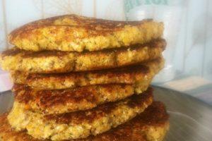 Blomkålspandekager - opskrift på pandekager med blomkål