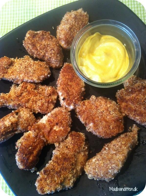 Kylling med karrydip - LCHF