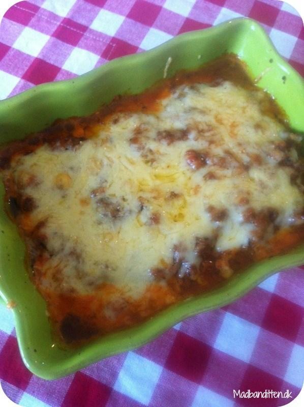 Low carb lasagne med squashplader
