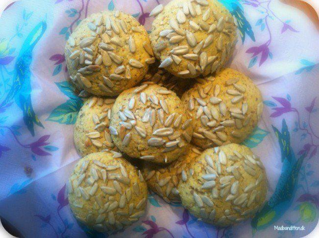 Morgenboller med solsikke