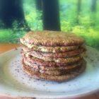 Grønne pandekager - sundt brød
