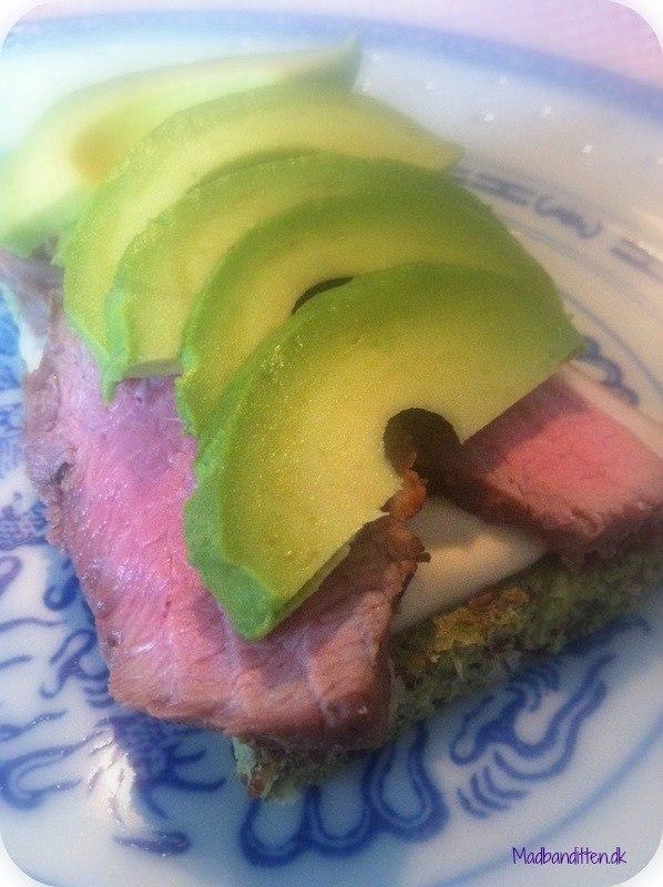 Steak sandwich LCHF