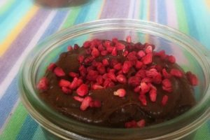 Chokolademousse med avocado - helt naturlig dessert