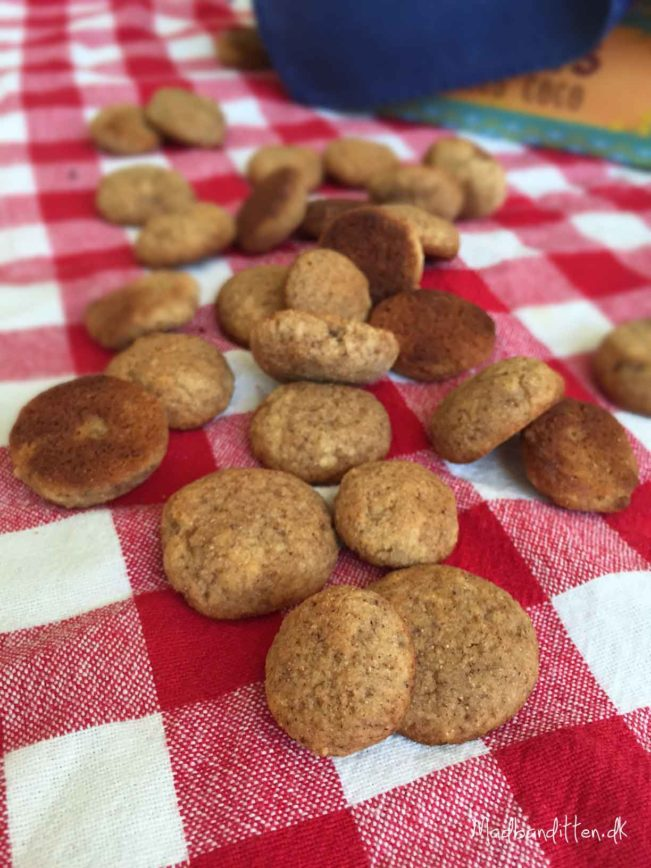 LCHF-juleopskrifter - pebernødder uden mel og sukker