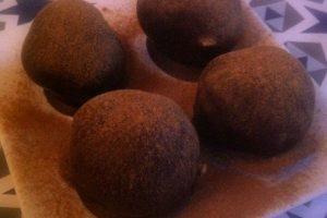 Marcipan med lakrids - marcipan med chokolade og lakrids