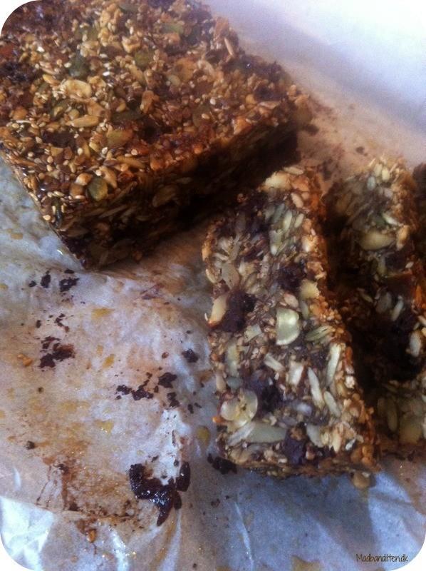 Kernebrød med chokolade - LCHF