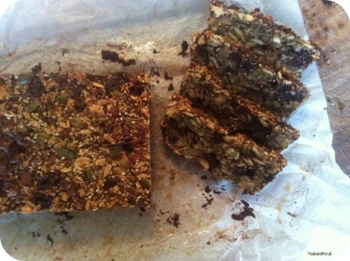 kernebrød med chokolade LCHF