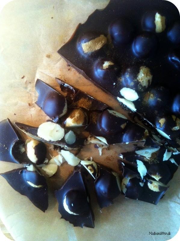 chokoladebrud med macadamianødder