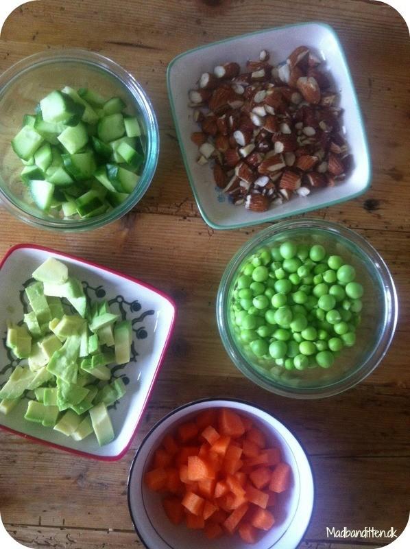 Salatbar til børn