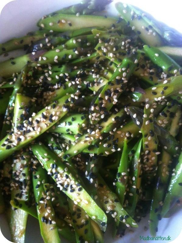 asiatiske asparges - dejlig opskrift med asparges