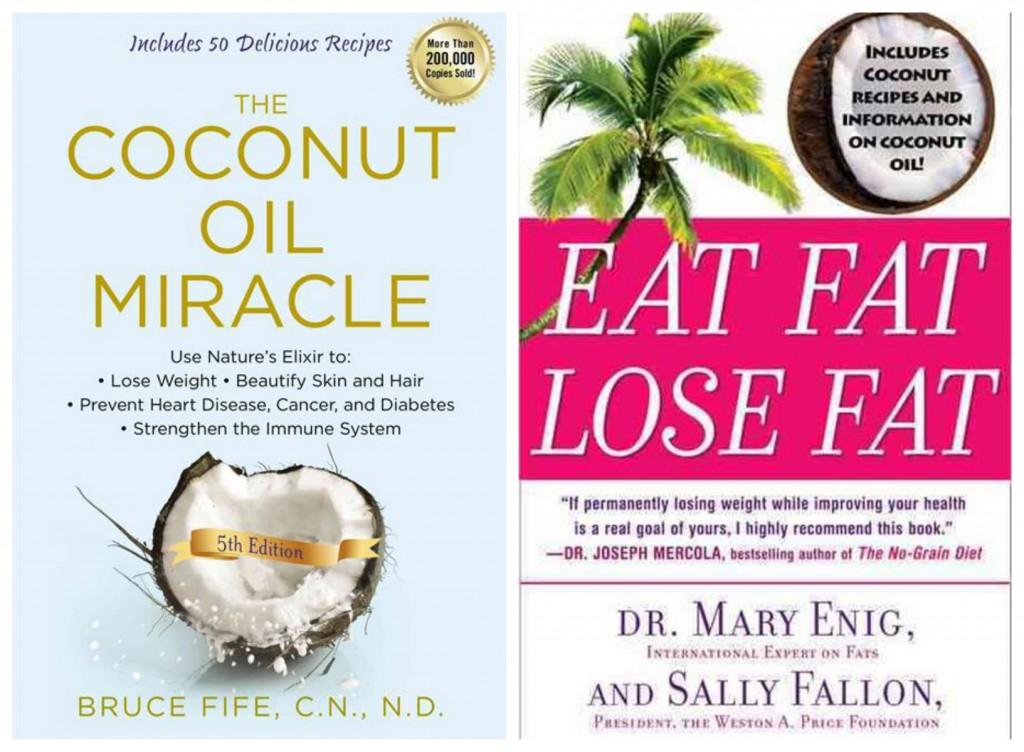 Bøger om kokosolie