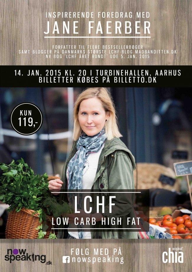 LCHF Foredrag - Jane Faerber