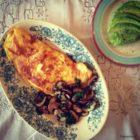 Omelet med cremede svampe - LCHF