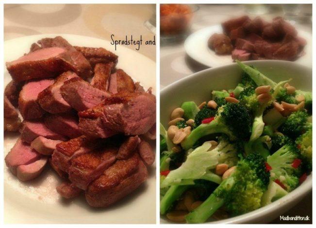 Broccolisalat og and
