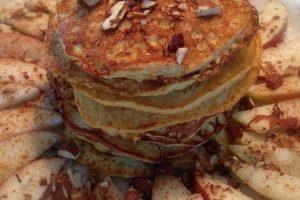 Æble-kanel pandekager - LCHF - mine bedste opskrifter