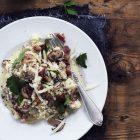 Grøntsagsrisotto -opskrift på lækker LCHF risotto uden ris